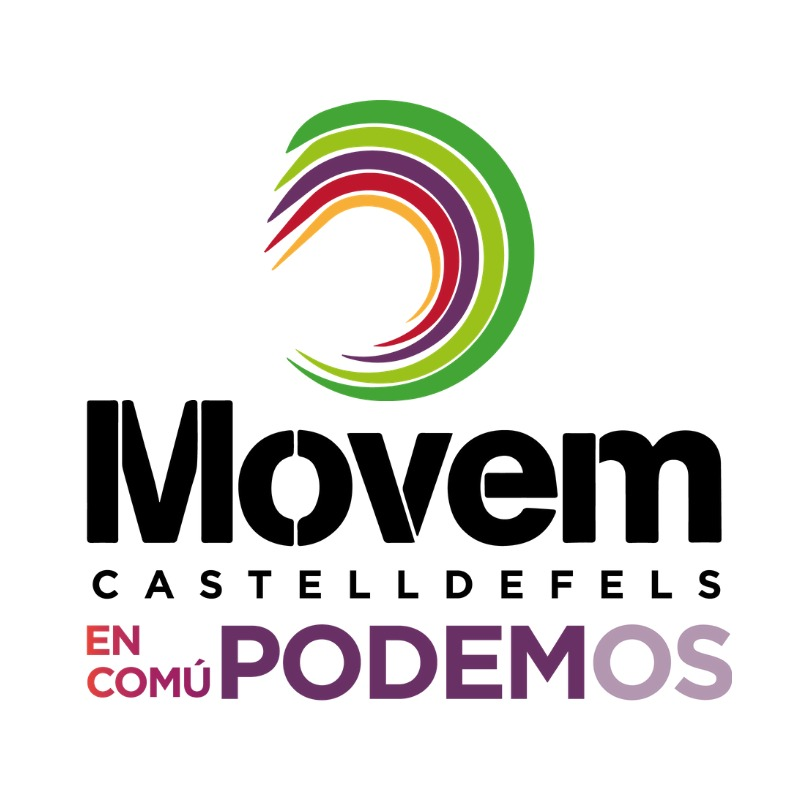 Logo Grup Municipal Movem Castelldefels-En Comú-Podem (MOVEM-E)